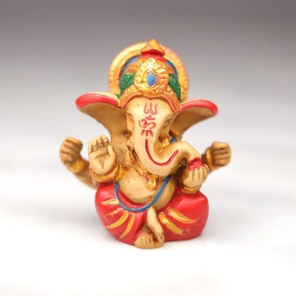 Figura de Ganesh Multi Color (Rojo) • Humos.cl
