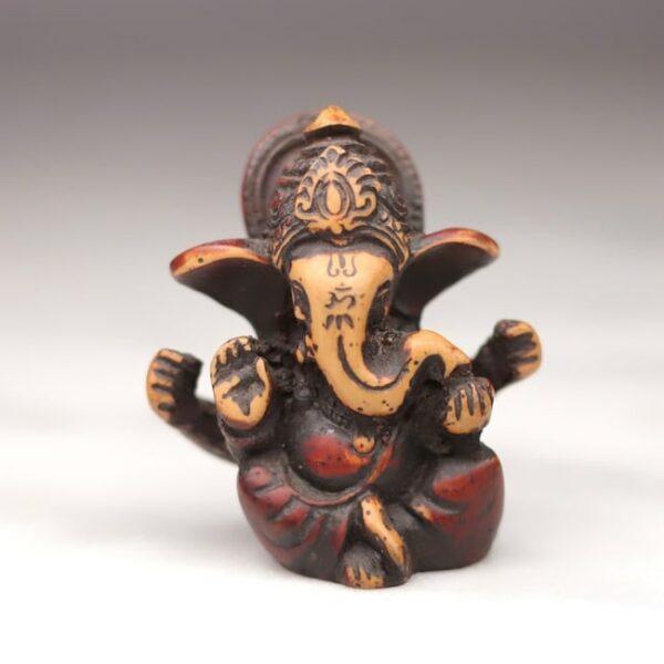 Figura de Ganesh Multi Color (Tierra) • Humos.cl