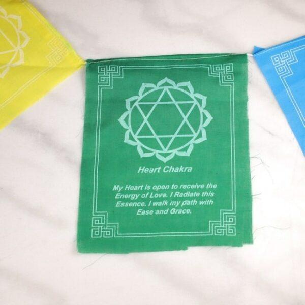 Bandera tibetana chakras y mensajes 4 Humos.cl — Humos.cl