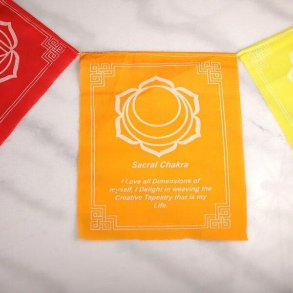 Bandera tibetana chakras y mensajes 6 Humos.cl — Humos.cl