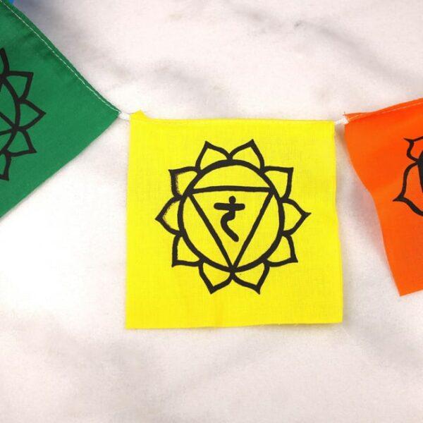 Bandera tibetana chakras small 4 Humos.cl — Humos.cl