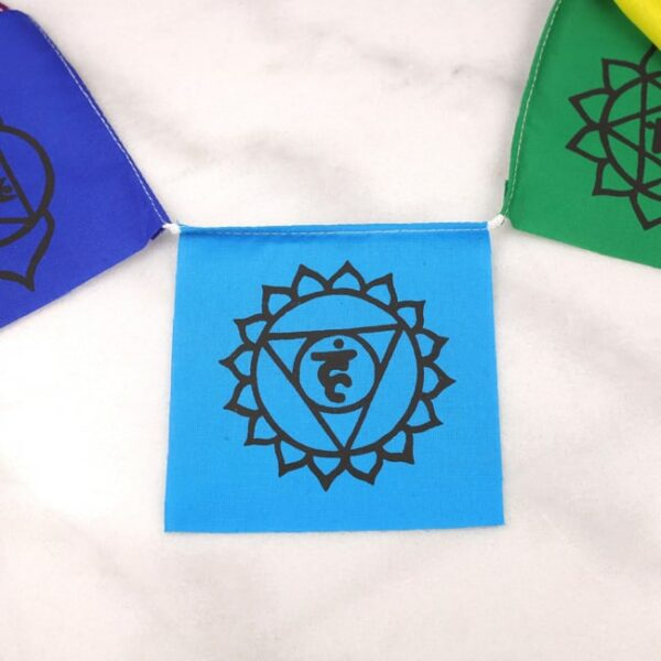 Bandera tibetana chakras small 6 Humos.cl — Humos.cl