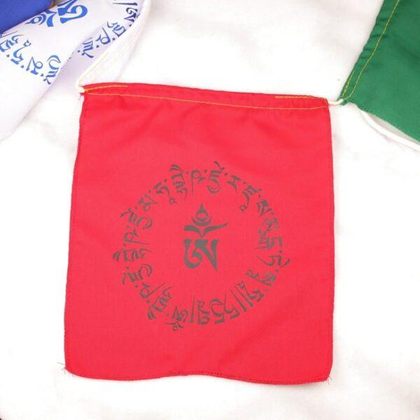Bandera tibetana om y buda medicinal 2 Humos.cl — Humos.cl