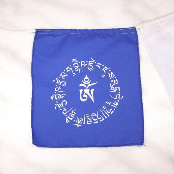 Bandera tibetana om y buda medicinal 3 Humos.cl — Humos.cl