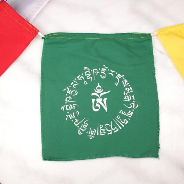 Bandera tibetana om y buda medicinal 4 Humos.cl — Humos.cl