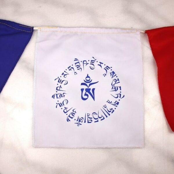Bandera tibetana om y buda medicinal 6 Humos.cl — Humos.cl