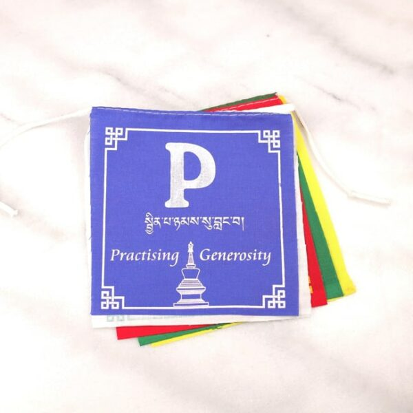 Bandera Tibetana: Peace - Paz • Humos.cl