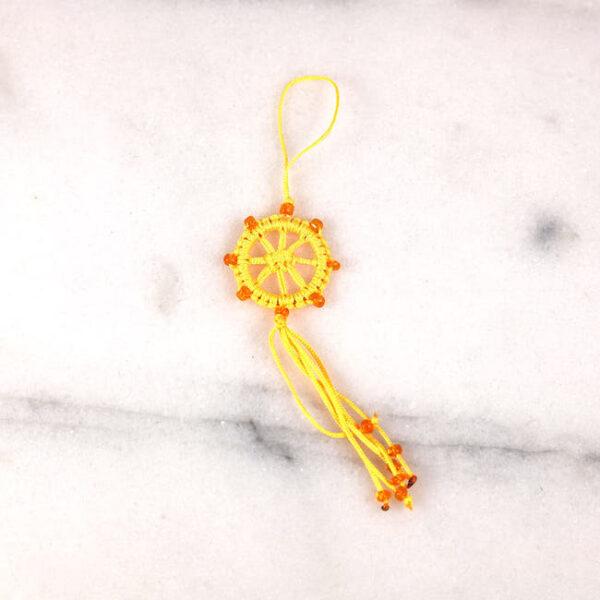 rueda de dharma amarilla 3 — Humos.cl