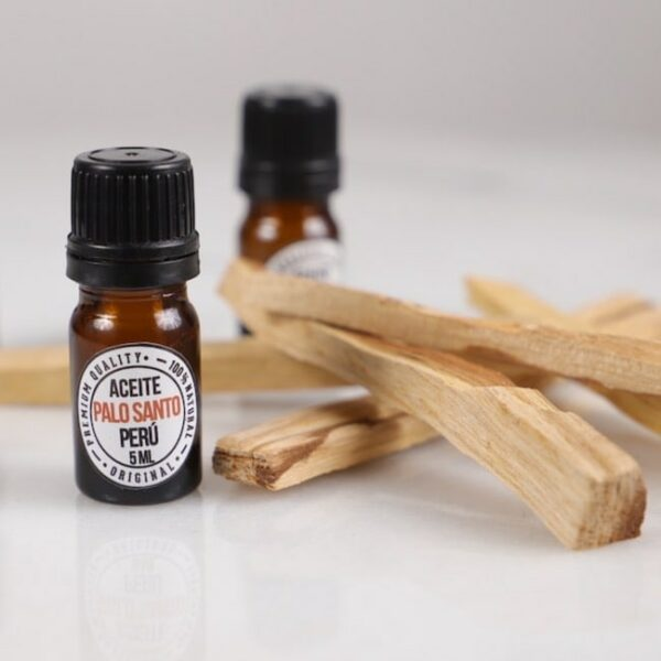 Aceite 100% Palo Santo - 5 ml. • Humos.cl
