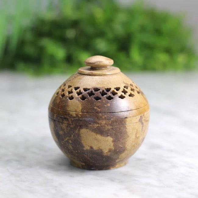 Quemador de resinas piedra mediano 1 Humos.cl — Humos.cl