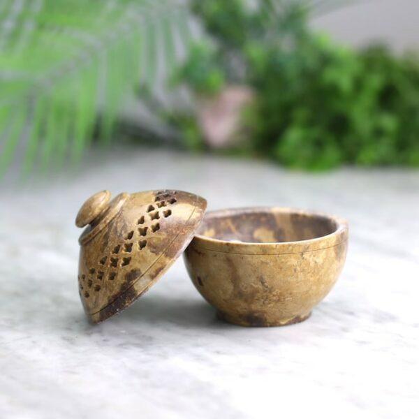 Quemador de resinas piedra mediano 3 Humos.cl — Humos.cl