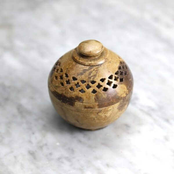 Quemador de resinas piedra mediano 4 Humos.cl — Humos.cl