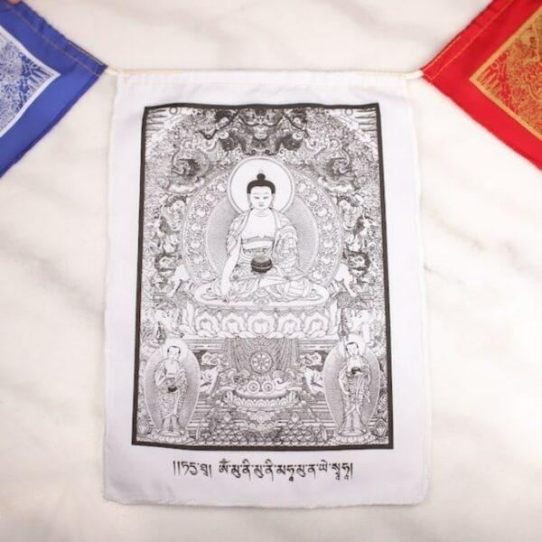Bandera tibetana buda el despertar 3 Humos.cl — Humos.cl