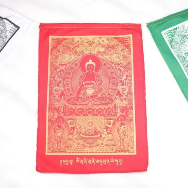 Bandera tibetana buda el despertar 5 Humos.cl — Humos.cl
