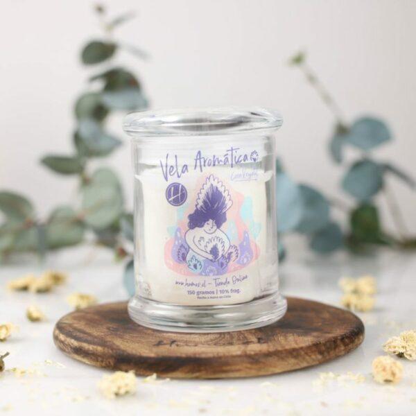 Vela Vegetal Gardenia • Humos.cl