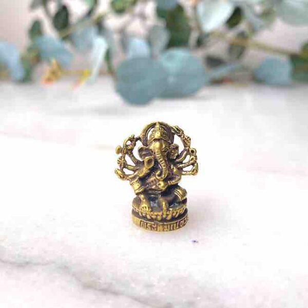 Figura Mini Ganesh brazos • Humos.cl