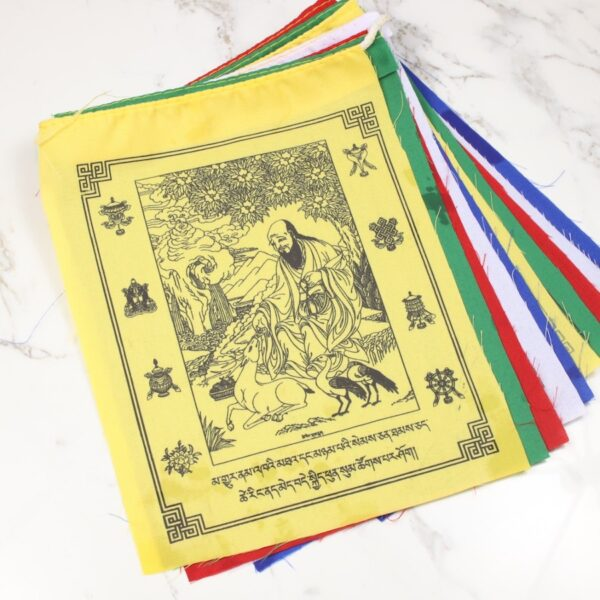 Bandera Tibetana Símbolos de Larga Vida • Humos.cl