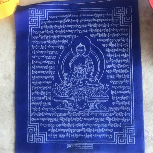 Bandera Tibetana Buda Medicinal • Humos.cl