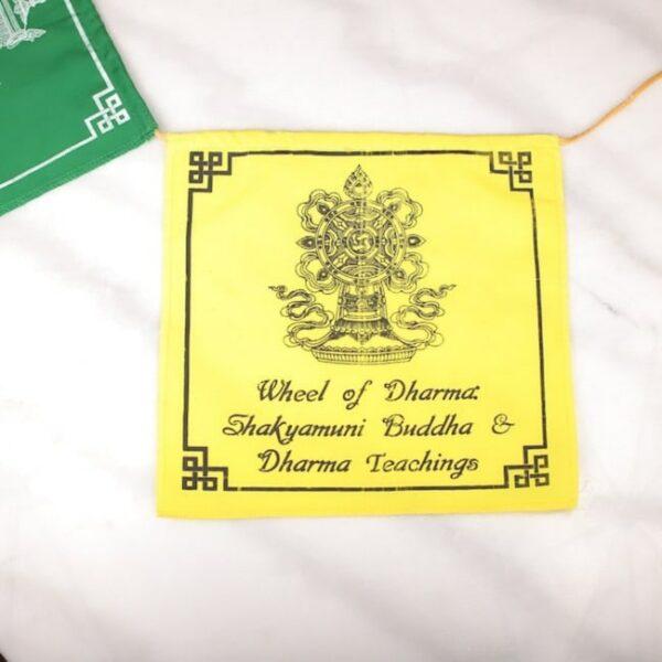 Bandera tibetana simbolos auspiciosos 8 Humos.cl — Humos.cl