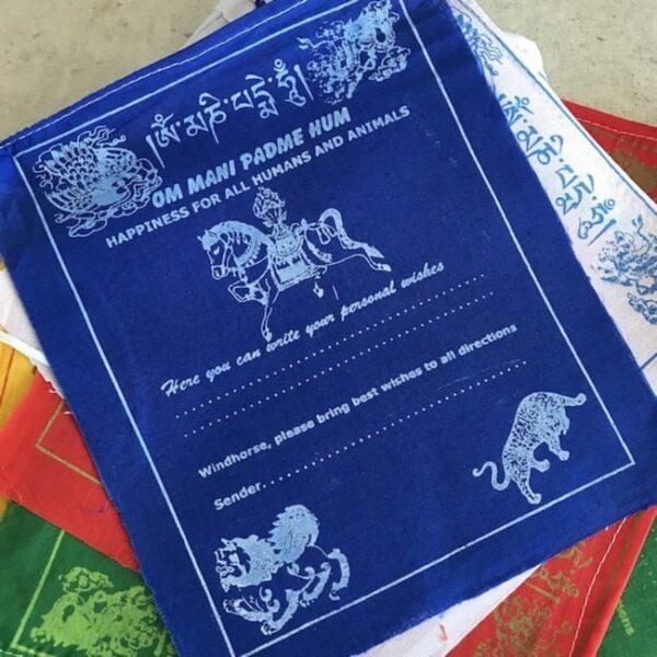 Bandera Tibetana con Tus Deseos • Humos.cl