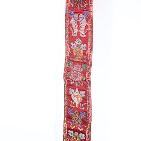 Colgante Pared 8 Símbolos Auspiciosos Granate • Humos.cl