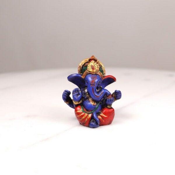 Figura de Ganesh Multi Color • Humos.cl