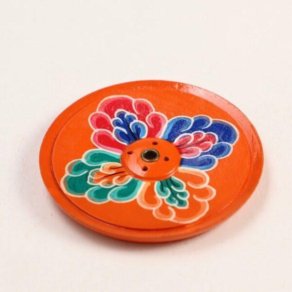 Porta inciensos floral 1 Humos.cl 1 — Humos.cl